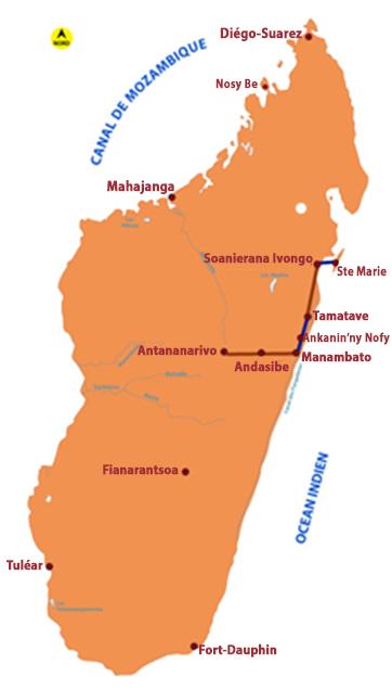 Circuit Pangalanes - Sainte Marie