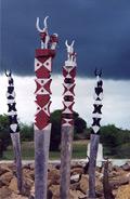 Aloalo sur les tombeaux Mahafaly
