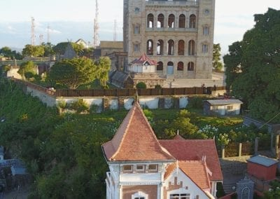 Vue sur le palais du Rova